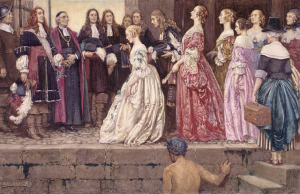 Arrival_of_the_Brides_-_Eleanor_Fortescue-Brickdale